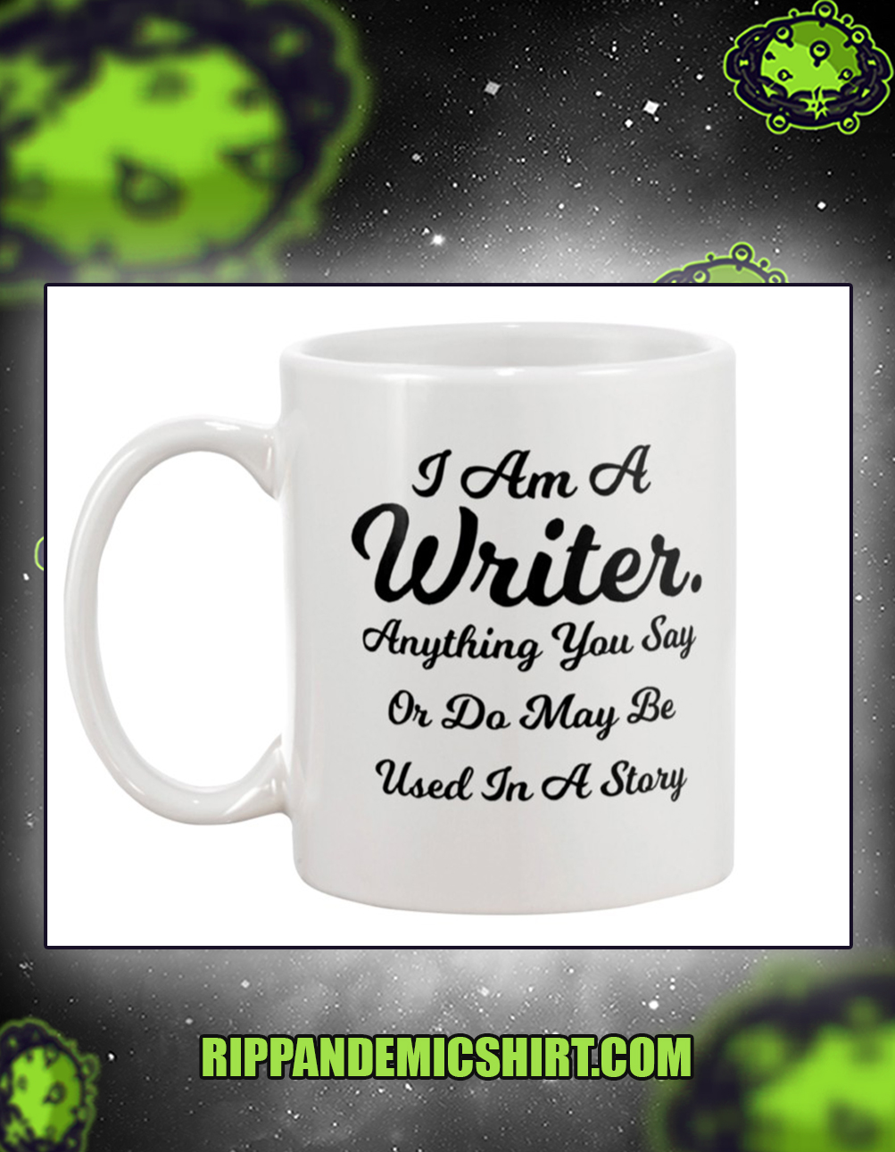 I am a writer mug 11oz