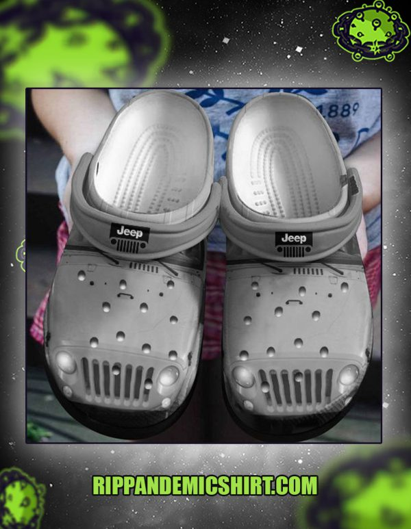 JEEP crocs crocband shoes grey