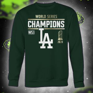 World series champions Los Angeles Dodgers 2020 sweatshirt