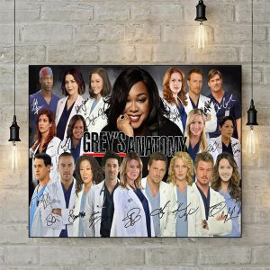 Grey's anatomy signature poster A2
