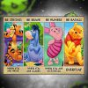 Winnie the Pooh be strong be brave be humble be badass poster