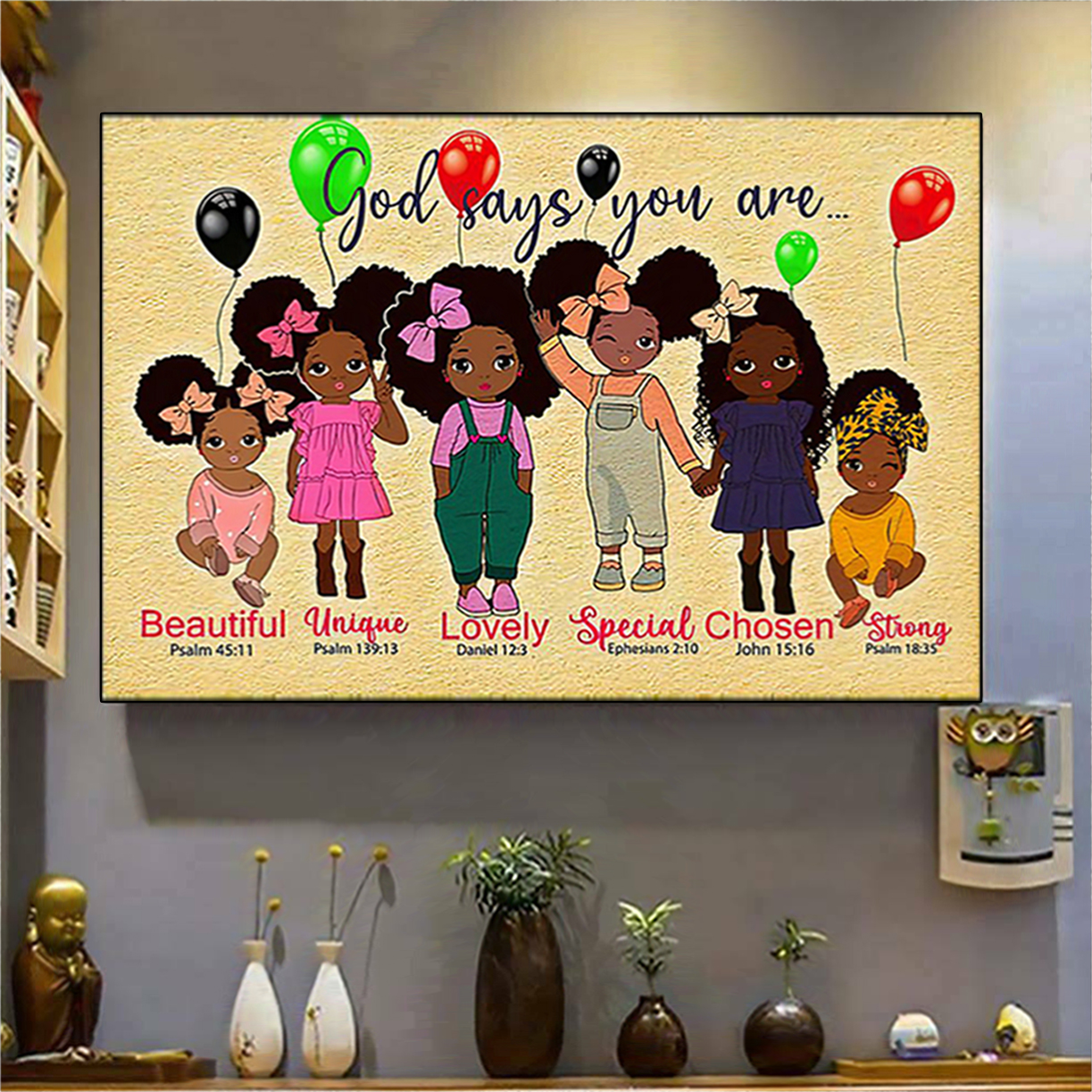Black girl godchild says you are poster A2