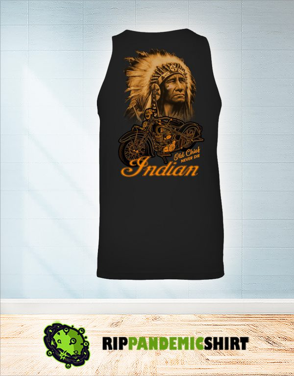 Indian old chick never die tank