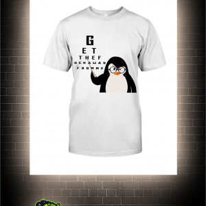 Penguin Get the fuck away from me shirt