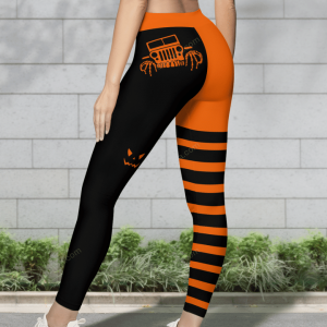 HALLOWEEN LEGGING WITH FUNNY JEEP LOGO -2