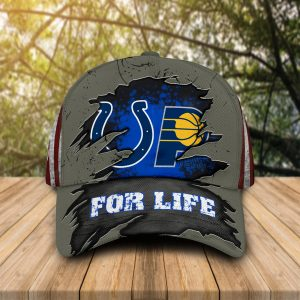 Indianapolis Colts, Indiana Pacers For Life Hat Cap
